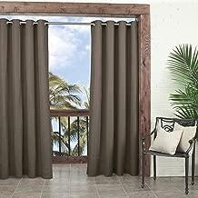 Parasol 14025052108CAM Key Largo 52-Inch by 95-Inch Indoor/Outdoor Single Curtain Panel, Caramel