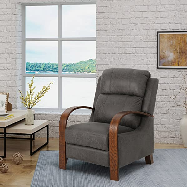 Christopher Knight Home 304663 Randall Traditional Recliner Slate Brown