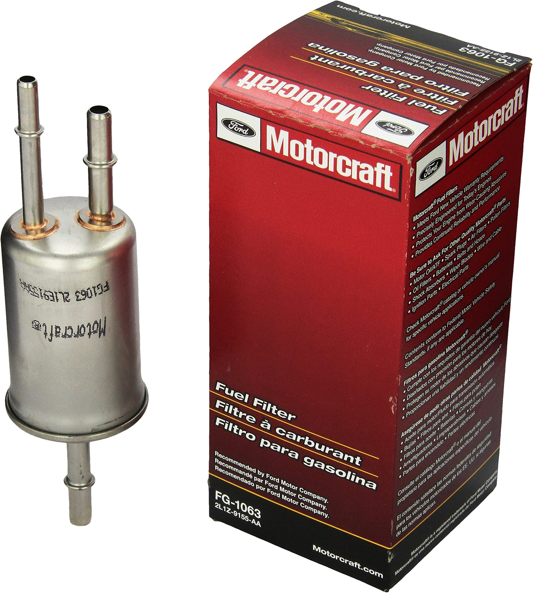Amazon.com: Motorcraft - FG1063 Fuel Filter: AutomotiveAmazon.com
