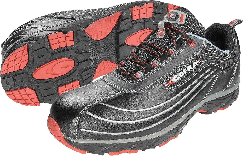 Cofra JV003-000.W41 Size 41 S3 SRC  New Devil  Safety shoes - Black - EN safety certified