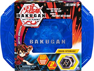 Bakugan, Baku-Storage Case (Blue) Collectible Creatures, for Ages 6 and Up