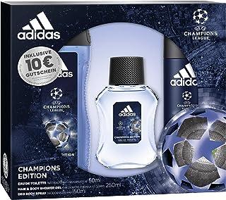 adidas uefa cl Champions Edition Eau de Toilette + Desodorante Body Spray + Gel De Ducha + Online Shop cupones, 300ml