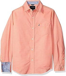 Nautica N874335Q Camisa para Niños