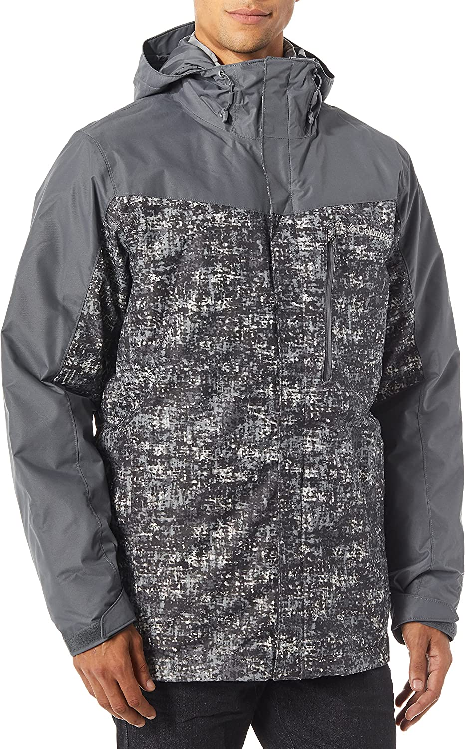 Columbia Men's Standard cheap Whirlibird III Graph Free shipping anywhere in the nation Interchange Jacket