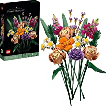 LEGO 10280 Icons Flower Bouquet, Byggsatser Vuxna, Samlingsbar, Botanik, Byggklossar