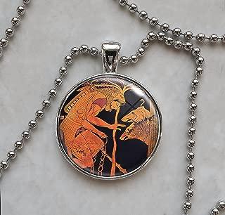 Hercules Nemean lion Skin Pendant Necklace
