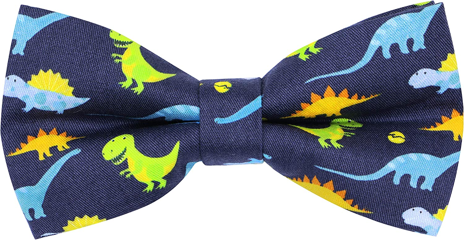 OCIA Cute Pattern Pre-tied Bow Tie Adjustable Bowties for Adult & Children