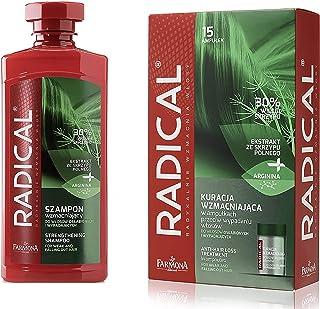 FARMONA RADICAL set: Strengthening Shampoo for Weak & Falling Out Hair (400 ml) + Strenghtening Anti Hair Loss Treatment i...
