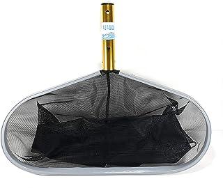 440 Pool Leaf Rake, Swimming Net Deep with Aluminum Frame Deep Bag Rake, Medium MESH, Works Perfectly for Pool, Hot Tubs a...