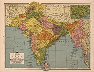 Map Poster - India - 24