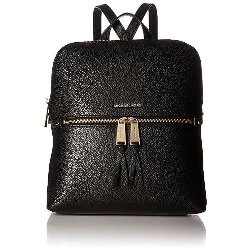 09fc8c4ff24 Michael Kors Rhea Medium Slim Leather Backpack