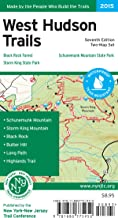 West Hudson Trails Map: Storm King State Park, Schunemunk Mountain State Park, Black Rock Forest
