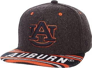 Adult Men End Zone Snap NCAA Snapback Hat, Grey/Team Color, Adjustable