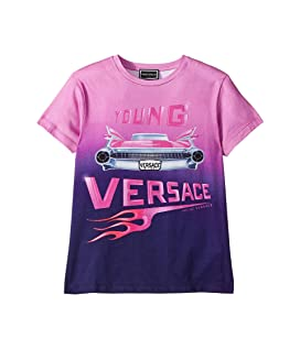 Short Sleeve Logo Car Graphic T-Shirt (Big Kids)