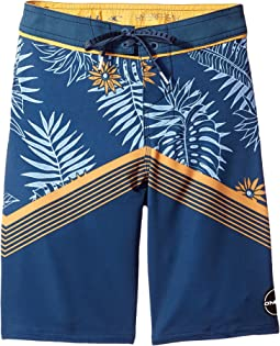 O'Neill Kids - Hyperfreak Tradewinds Boardshorts (Big Kids)
