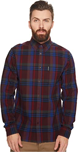 Ben Sherman - Long Sleeve Brushed Crepe Check Shirt
