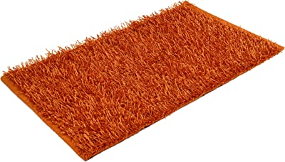 Gözze Shaggy 1012-36-7 Deep-Pile Rug 50 x 70 cm Ökotex Metallic Orange