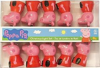 Kurt Adler PA9161 10 Ultra Peppa Pig Light Set