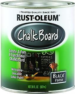 Rust-Oleum Rustoleum 206540 1 Quart Black Chalk Board Paint
