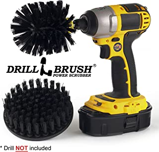 Drillbrush Ultra Stiff Drill Powered Cleaning Brush kit for Heavy Duty use