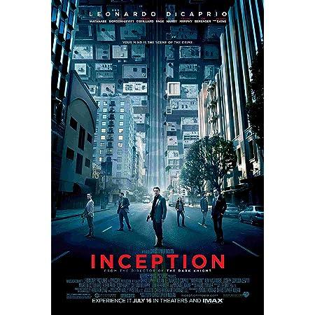 WJY Inception Movie Art Poster Drucken auf Silk Frabic Wandbild f/ür Wohnzimmer Home Decor 60cm x90cm Kein Rahmen