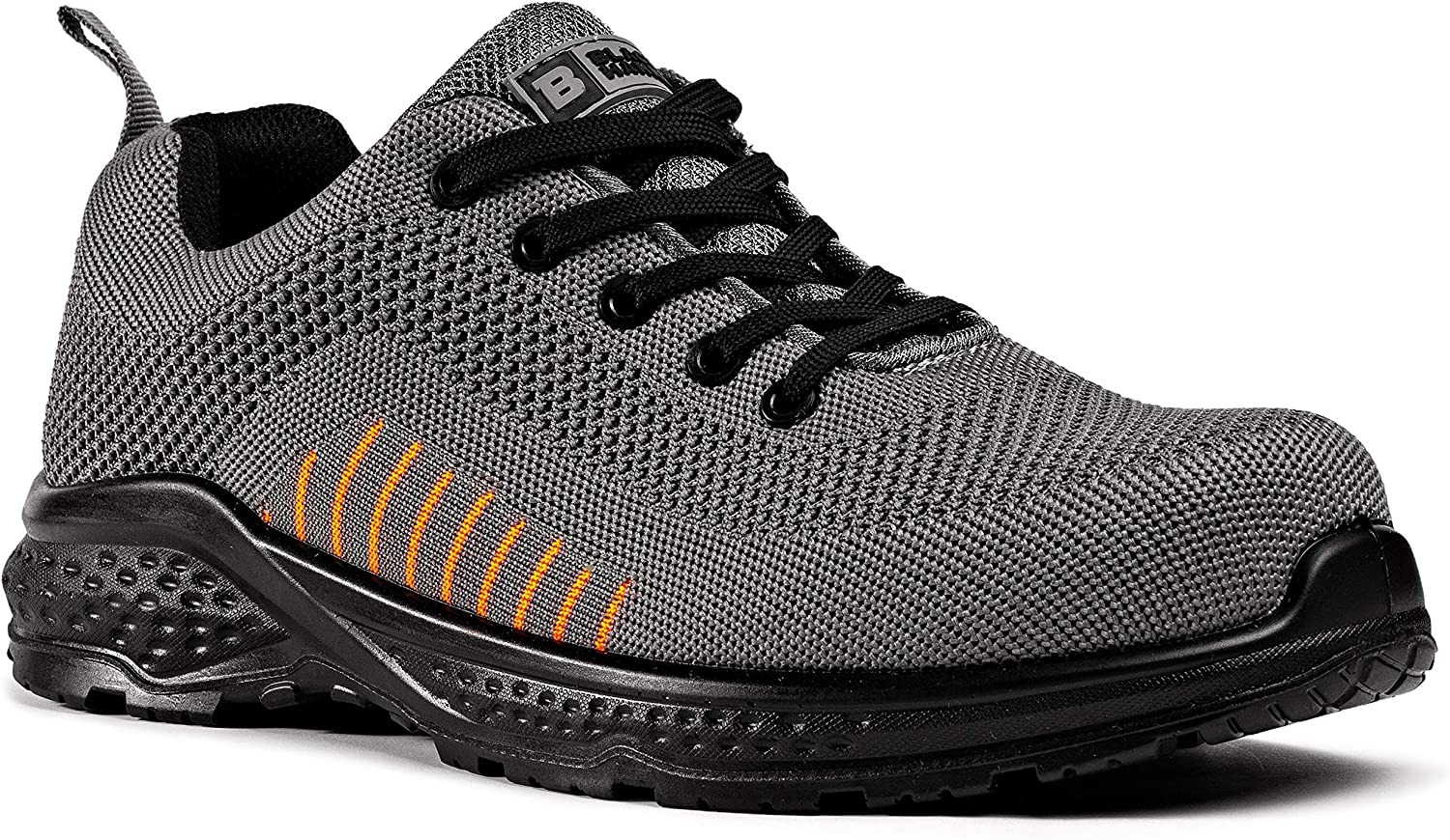 Black Outlet SALE Hammer Mens Safety Sneakers flynit Free Non SRC Metal At the price of surprise S1P