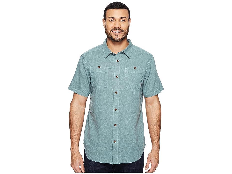 Columbia Southridge Short Sleeve Shirt (Dusty Green) Men