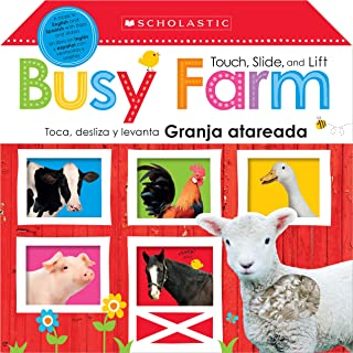 Touch, Slide, and Lift Busy Farm / Toca, Desliza Y Levanta: Granja Atareada: Scholastic Early Learners (Bilingual)