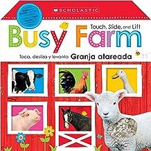 Touch, Slide, and Lift Busy Farm / Toca, desliza y levanta: Granja atareada: Scholastic Early Learners (Bilingual) (Spanish and English Edition)