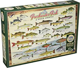 Cobblehill 80094 1000 pc Freshwater Fish of N. America Puzzle, Various