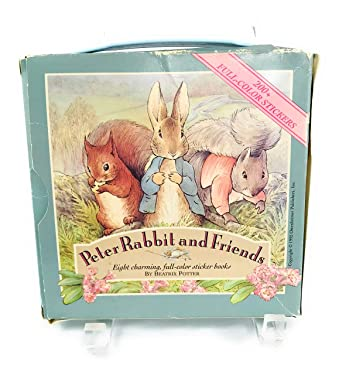 100th Anniversary Edition, Peter Rabbit and Friends Collectible By Beatrix Potter, Eight Charming, Full-color Reading and Sticker Books (Includes Carry Case with Handle)