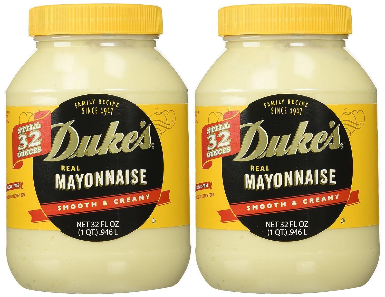 Duke's Mayonnaise 32-ounce 55% OFF High quality new Jar 2 Pack - of