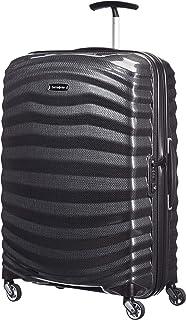 Samsonite Lite-Shock Spinner M Valigia, 69 cm, 73 L, Nero (Black)