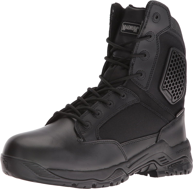 Magnum Mens Strike Force 8  Side Zip Waterproof Military & Tactical Boot