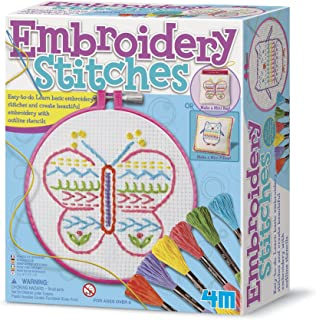 4M Embroidery Animal Cards Kit 5639