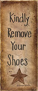 Kindly Remove Your Shoes Sign Print