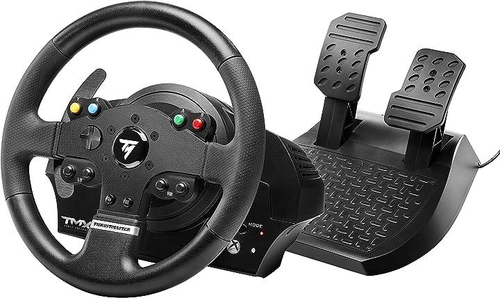 Volante thrustmaster tmx force feedback (volante incl. 2-pedali, force feedback, 270° - 900°, xbox one / pc) 4460136