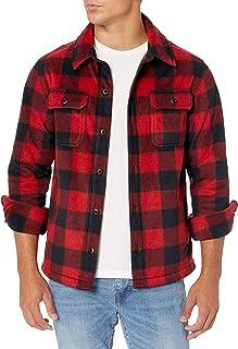 Amazon Essentials Men's Long-Sleeve Polar Fleece Shirt Jacket
