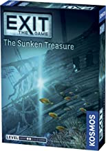 Exit: The Sunken Treasure   Exit: The Game - A Kosmos Game   Family-Friendly, Card-Based at-Home Escape Room Experience for 1 to 4 Players, Ages 10+