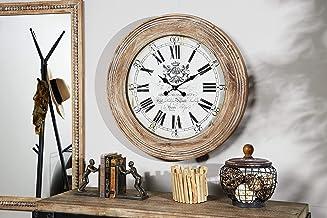 ساعة حائط 79 ديكو كبير، بني