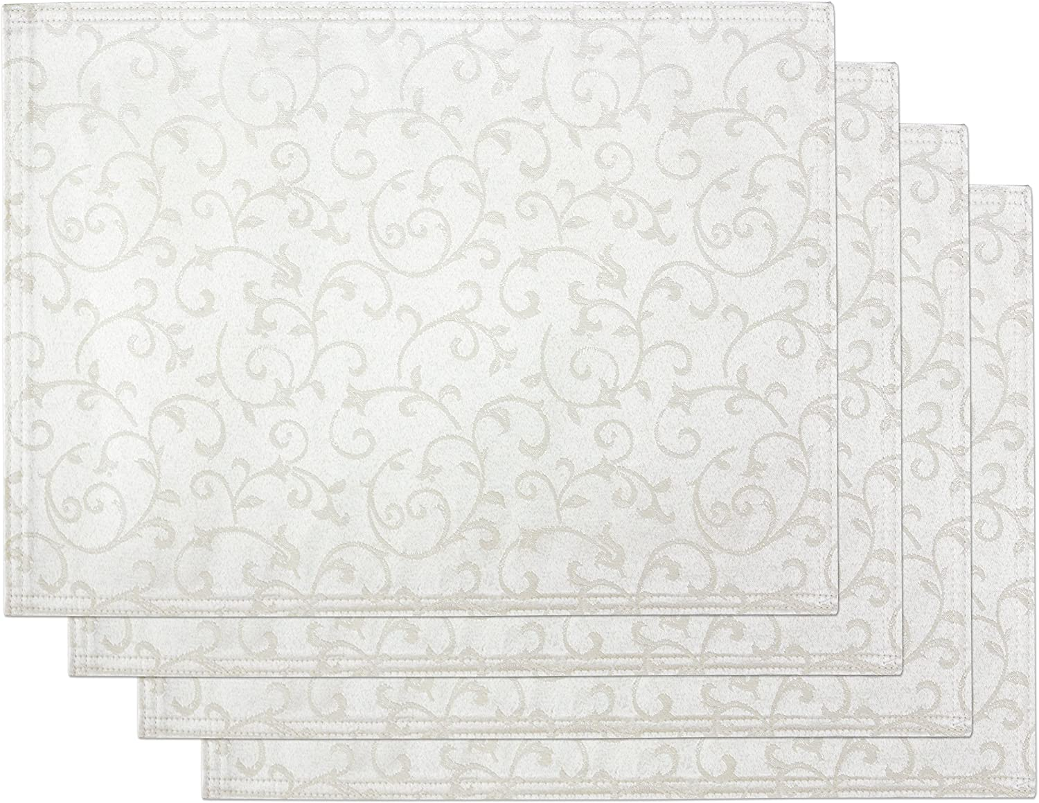 Lenox Max 78% Cheap mail order specialty store OFF Opal Innocence Set 4 of Platinum Placemats