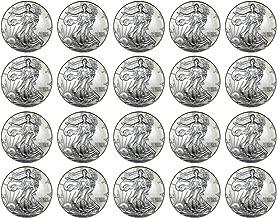 1996 silver eagle roll