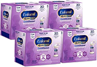 Enfamil Neuropro Gentlease Ready To Feed Infant Formula 2 fl.oz. Nursette Bottle (24 total) Ease Gas & Crying Vitamins & M...