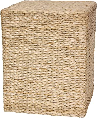 Oriental Furniture Rush Grass Square Coffee Table - Natural