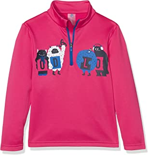 RV LG.Arm Ki Snowbird Kids Bambino Roll Colletto M Odlo Midlayer 1//2/ Zip MOD