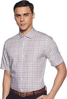 Louis Philippe Men's Regular fit Formal Shirt