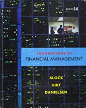 Foundations of Financial Management 14th Edition Answers and Solutions Study Guide