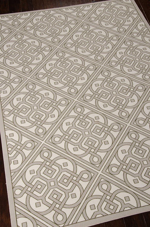 Nourison Wav01 Oklahoma City Mall Sun Max 71% OFF Shade SND31 5-F Area Rug Stone Rectangle