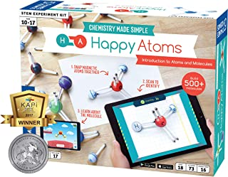 Happy Atoms Magnetic Molecular Modeling Introductory Set | Intro To Atoms, Molecules, Bonding, Chemistry | Create 508 Mole...