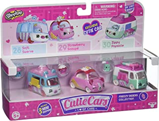 Shopkins Cutie Car Spk Season 1 Freezy Riders Toy 3 Pack